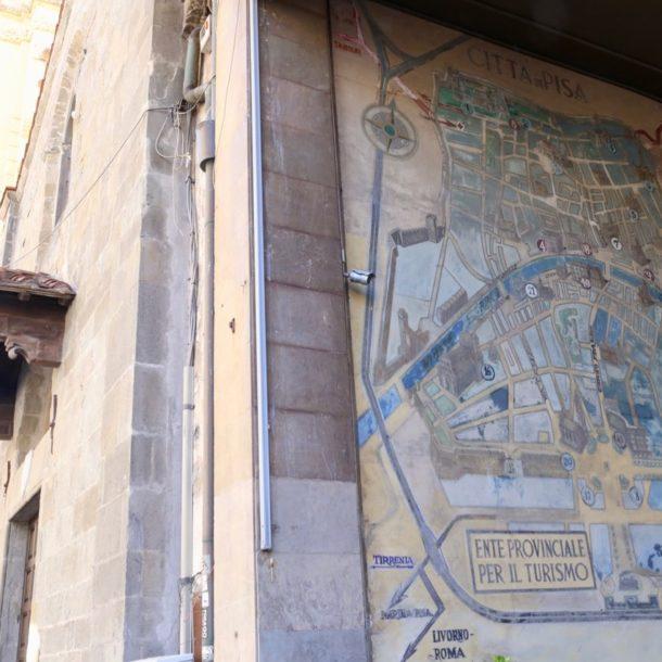 mappa storica di pisa